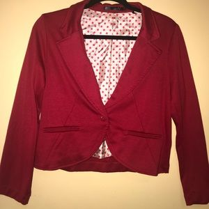 Jackets & Blazers - Red jacket